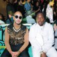 Swizz Beatz et Pusha-T assistent au défilé Dior, collection homme automne-hiver 2020, au Musée Rubell. Miami, le 3 décembre 2019.