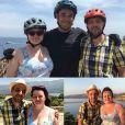 """Maud et Laurent de """"L'amour est dans le pré 2019"""" lors de leur séjour en Corse en juin - photo Instagram du 25 novembre"""