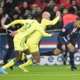 Match de Ligue 1 Paris Saint-Gemain - FC Nantes au Parc des Princes. Paris, le 4 décembre 2019.