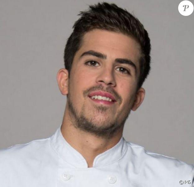 """Victor Mercier candidat de """"Top Chef 2018"""", photo officielle, M6"""