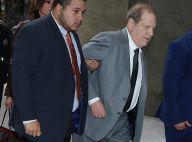 Harvey Weinstein titubant au tribunal, sa liberté surveillée remise en question