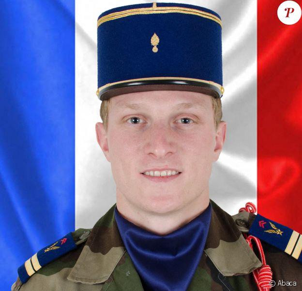 Le lieutenant Pierre-Emmanuel Bockel, l'un des 13 soldtas tués lors de l'opération Barkhane au Mali le 25 novembre 2019.