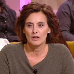 """Inès de la Fressange dans l'émission """"Je t'aime, etc"""", sur France 2, le 12 décembre 2019."""