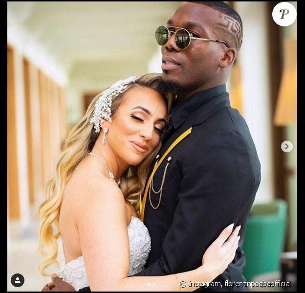 Florentin Pogba a épousé sa fiancée Sarita le 13 décembre 2019 à Bussy-Saint-Georges.