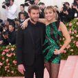 """Miley Cyrus et son mari Liam Hemsworth - Arrivées des people à la 71ème édition du MET Gala (Met Ball, Costume Institute Benefit) sur le thème """"Camp: Notes on Fashion"""" au Metropolitan Museum of Art à New York, le 6 mai 2019."""