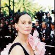 Claudine Auger au Festival de Cannes en 2001.