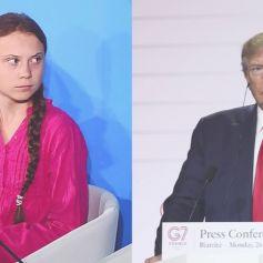 En 2019, Donald Trump et Greta Thunberg se sont souvent lancés des piques sur Twitter, retour sur ce clash de l'année.