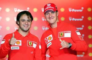 Felipe Massa se remet de son terrible accident... Michael Schumacher le remplace dans sa Ferrari ! Le retour du diable rouge !