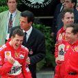 Michael Schumacher au Grand Prix de Formule 1 de Monaco en 1999.