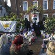 Les fans rendent hommage à George Michael devant sa maison du nord de Londres le 26 décembre 2016.