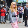 """Nicole Kidman à la sortie des studios de l'émission """"Good Morning America"""" à New York. Le 29 mai 2019."""