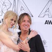 Nicole Kidman et son mari Keith Urban : Tendre baiser pour la nouvelle année