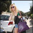 Lindsay Lohan à Los Angeles le 30 juillet 2009