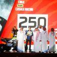 250 Casale Ignacio (chl), Yamaha, Casale Racing - Dragon Rally Team, Quad, action lors de la cérémonie de départ du Dakar 2020 à Djeddah, Arabie Saoudite, le 4 janvier 2020. © François Flamand/Panoramic/Bestimage