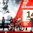 14 Sanz Laia (esp), KTM, KTM Factory Racing Team, Moto, Bike, action lors de la cérémonie de départ du Dakar 2020 à Djeddah, Arabie Saoudite, le 4 janvier 2020. © François Flamand/Panoramic/Bestimage