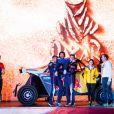 403 Despres Cyril (fra), Horn Mike (che), OT3, Red Bull Offroad Team USA, SSV, portrait lors de la cérémonie de départ du Dakar 2020 à Djeddah, Arabie Saoudite, le 4 janvier 2020. © François Flamand/Panoramic/Bestimage