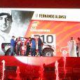 310 Alonso Fernando (esp), Coma Marc (esp), Toyota Hilux, Toyota Gazoo Ragin, Auto, Car, action lors de la cérémonie de départ du Dakar 2020 à Djeddah, Arabie Saoudite, le 4 janvier 2020. © François Flamand/Panoramic/Bestimage
