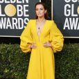 Zoey Deutch, habillée d'une robe Fendi, assiste à la 77ème cérémonie annuelle des Golden Globe Awards au Beverly Hilton Hotel à Los Angeles, le 5 janvier 2020.