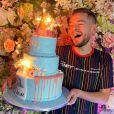 Jeremstar a partagé des photos de sa fête d'anniversaire sur Instagram, le 5 janvier 2020. Il a eu 33 ans.