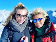Sophie Davant : Rare photo avec sa fille Valentine depuis les pistes