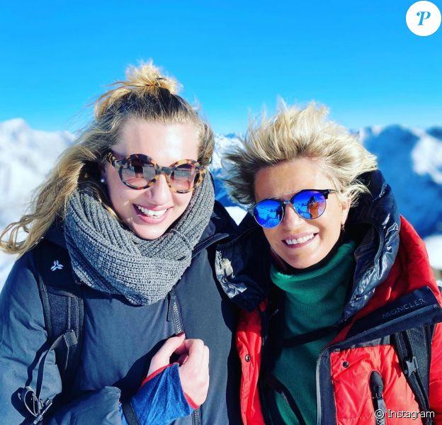 Sophie Davant et sa fille Valentine sur Instagram, le 5 janvier 2020.