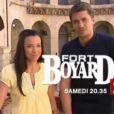 Olivier Minne Et Anne-Gaëlle, les animateurs de Fort Boyard