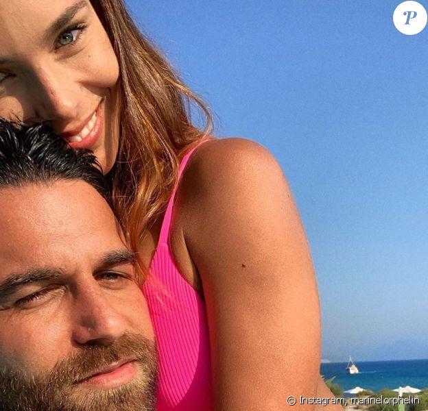 Marine Lorphelin et Christophe en Grèce, le 3 septembre 2019