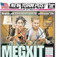 Les unes des journaux reprennent le Megxit, la volonté du Prince Harry et de Meghan Markle de se mettre en marge de la famille royale.