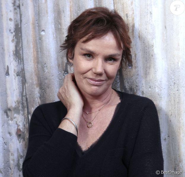Portrait de Claire Nebout à Paris le 23 septembre 2015.