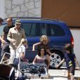 Bono en famille à Monaco