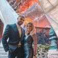 Jessica Thivenin et Thibault Kuro classes pour les fêtes de fin d'année, le 1er janvier 2020