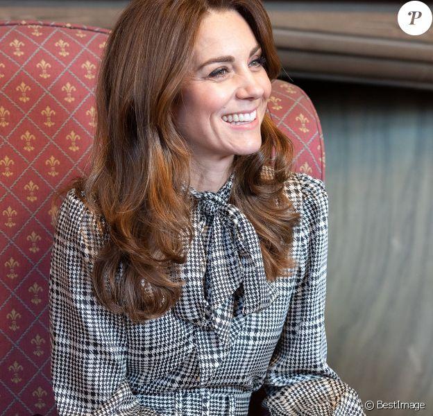 Le prince William, duc de Cambridge, et Catherine Kate Middleton, duchesse de Cambridge, sont en visite à Bradford le 15 janvier 2020.