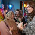 """Kate Catherine Middleton, duchesse de Cambridge, a rencontré des membres de la communauté musulmane ainsi que des femmes du """"Council Curry Circle"""" au restaurant MyLahore à Bradford. Le 15 janvier 2020"""