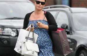 Coleen Rooney : enceinte de 7 mois, la femme de Wayne Rooney... ne tient pas en place !