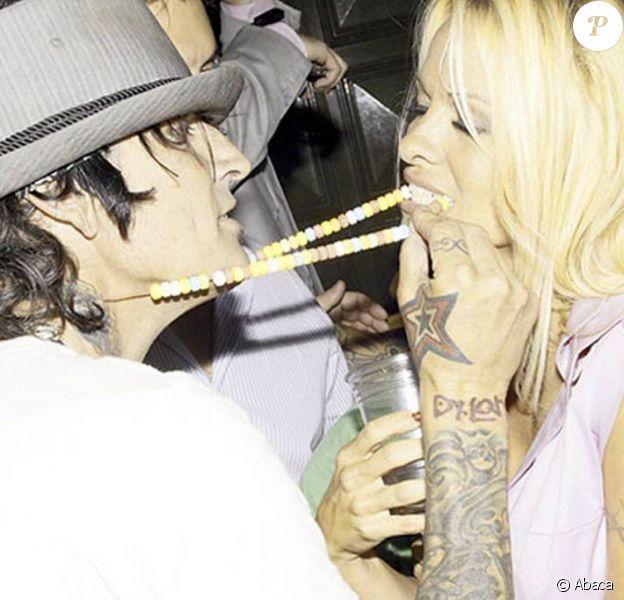 Pamela Anderson et Tommy Lee, au Hard Rock Hotel et Casino de Las Vegas, le 1er août 2009 !