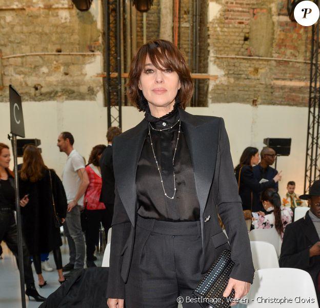 Monica Bellucci assiste au défilé de mode Haute-Couture printemps-été 2020 Alexandre Vauthier à Paris. Le 21 janvier 2020 © Veeren - Christophe Clovis / Bestimage