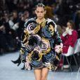 Défilé Alexandre Vauthier, collection Haute Couture printemps-été 2020 au Grand Palais. Le 21 janvier 2020.
