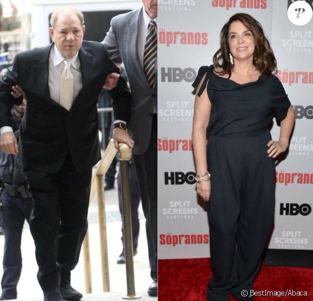 Procès d'Harvey Weinstein : le témoignage crucial d'Annabella Sciorra (Soprano)