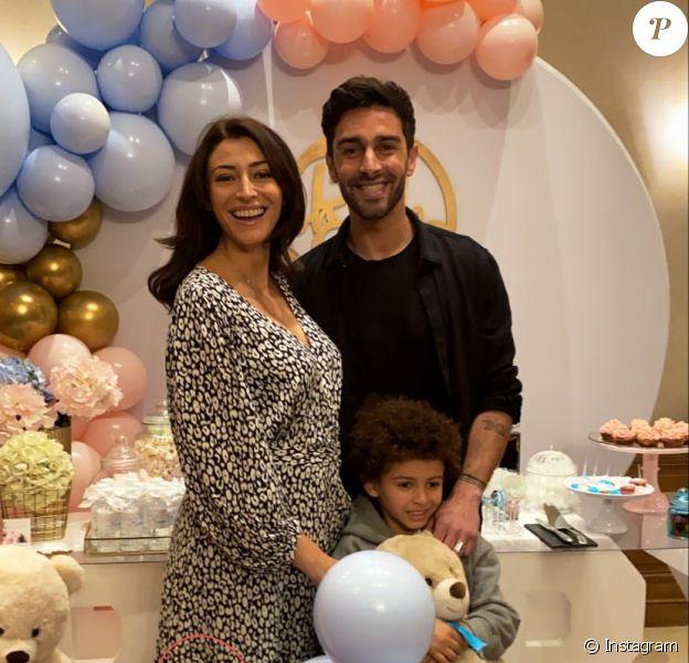 Rachel Legrain-Trapani et Valentin Léonard annoncent le sexe de leur futur bébé le 25 janvier 2020.