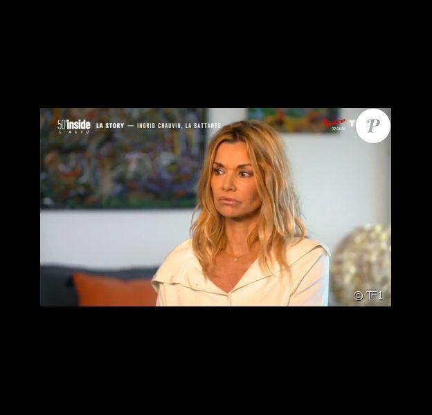 """Ingrid Chauvin se confie sur son accident de la route dans """"50' Inside"""" - 25 janvier 2020, TF1"""