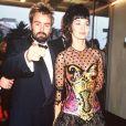 Luc Besson et Anne Parillaud lors du Festival de Cannes le 13 mai 1991.
