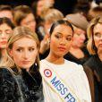 """Clémence Botino, Miss France 2020 - People au défilé de mode Haute-Couture printemps-été 2020 """"La Métamorphose"""" à Paris. Le 21 janvier 2020 © Veeren Ramsamy-Christophe Clovis / Bestimage"""