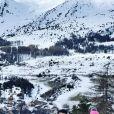 Laetitia Milot en vacances au sport d'hiver, sur Instagram en 2020.