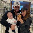 Nabilla et son fils Milann sur Instagram, janvier 2020.
