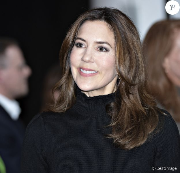 La princesse Mary de Danemark lors de la remise de prix Women's Board Awards à Copenhague le 31 janvier 2020.