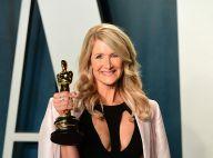 Oscars 2020 : Laura Dern gagnante, en famille avec ses enfants et sa mère