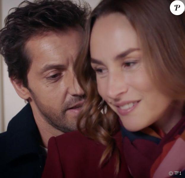 """Vanessa Demouy et Frédéric Diefenthal dans la série """"Demain nous appartient"""", diffusée sur TF1."""