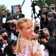 """Estelle Lefébure (robe Yanina Couture) à la première de """"The Dead Don't Die"""" lors de l'ouverture du 72ème Festival International du Film de Cannes, le 14 mai 2019. © Rachid Bellak/Bestimage"""