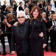 """Marc Cerrone et sa femme Jill - Montée des marches du film """"Sibyl"""" lors du 72ème Festival International du Film de Cannes. Le 24 mai 2019 © Jacovides-Moreau / Bestimage"""