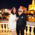 Exclusif - Rendez-vous avec Marc Cerrone et sa femme Jill à Las Vegas après le renouvellement de leur mariage le 10 décembre 2015.